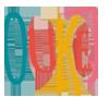 OUKEJ divadelní spolek Logo