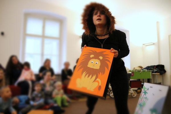 Monika Goldenfusova – Jak koza napálila lva